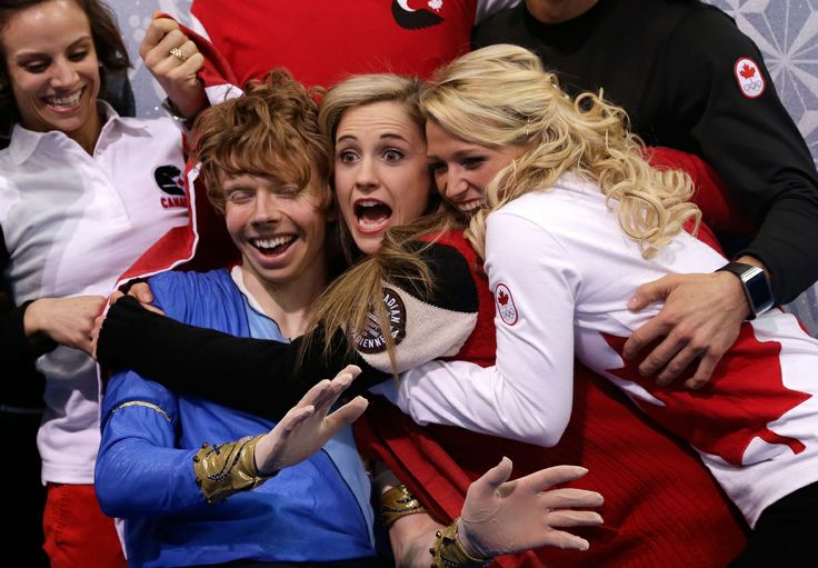 Canada Wins Silver In Team Figure Skating At 2014 Olympics