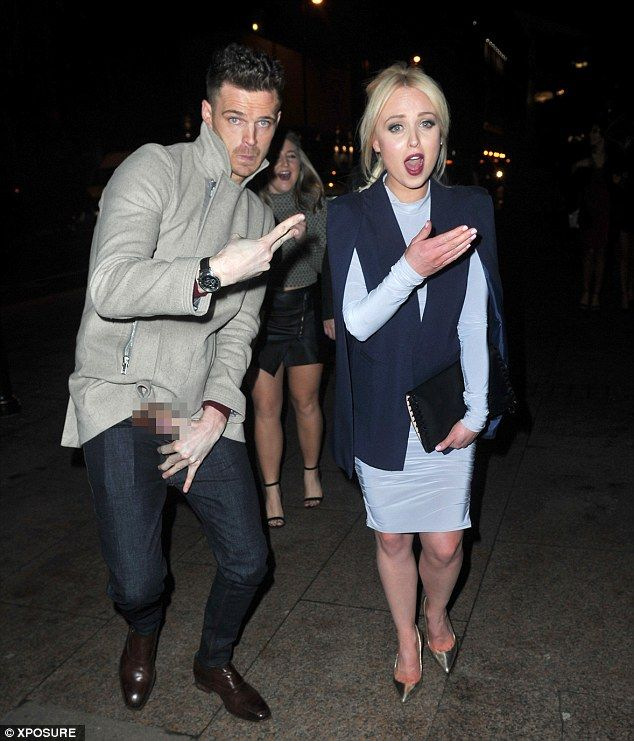 Uh oh! Jorgie got got more than she bargained for when a man jump in beside her when he sp...