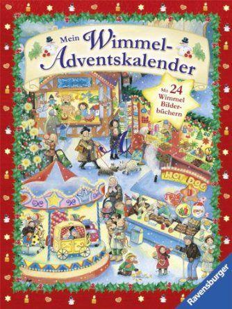 Mein Wimmel-Adventskalender: Mit 24 Wimmel-Bilderbüchern: Amazon.de: Ravensburger: Bücher