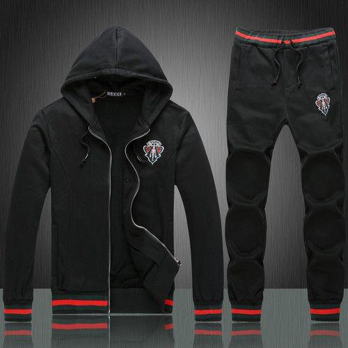2014 new mens Gucci jump suit set