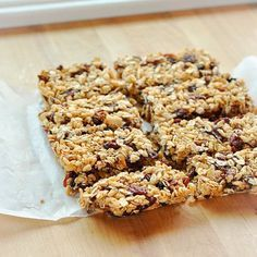 Como hacer barritas de cereales caseras
