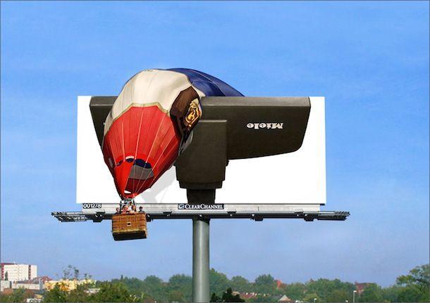 ¡Una potente aspiradora! Marketing creativo utilizando vallas de publicidad #vallas #publicitarias #venezuela Nuestra empresa de publicidad exterior suministra las vallas que requieras: http://grupoflx.com