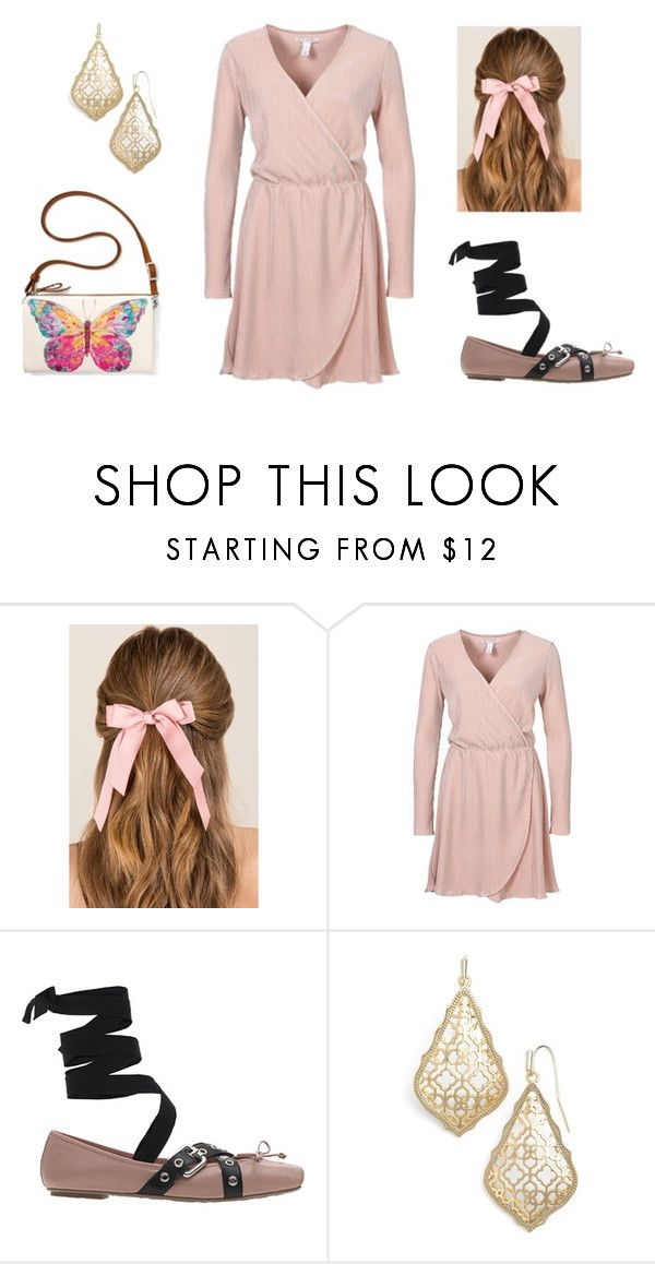 """""""pink set"""" by alma202 ❤ liked on Polyvore featuring Francesca's, Pretty Ballerinas, Kendra Scott and Brighton"""