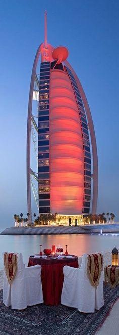 Dinner For Two By The Burj Al Arab Hotel Dubai