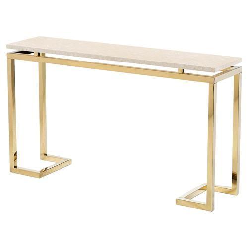 Small Cream Console Table