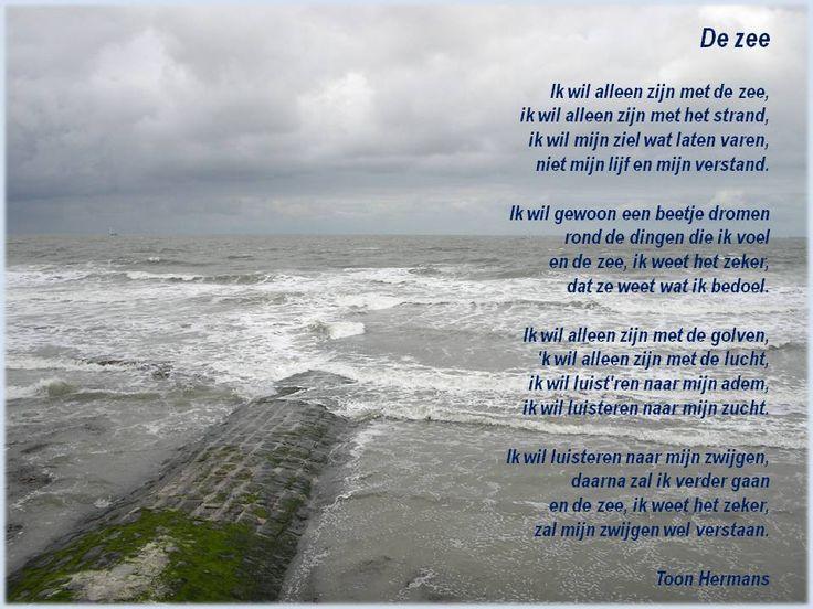 De zee - Toon Hermans