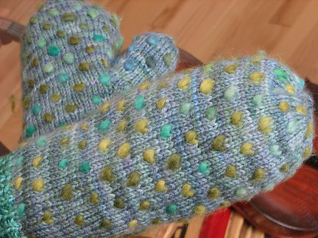 Thrum Mittens By Fleece Artist - Free Knitted Pattern - (ravelry)
