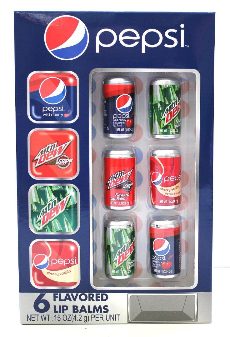 Check out Pepsi 6 Piece Soda Can Lip Balm - ShopYourWay