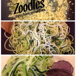 The key to making zucchini noodles (zoodles), easy and quick! 21 Day Fix approved