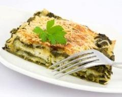 Lasagnes aux épinards et au fromage de chèvre (facile, rapide) - Une recette CuisineAZ