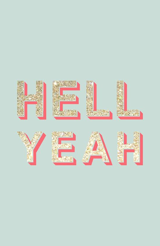 Hell yeah Monday!