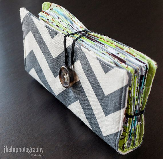 Gray Chevron Cash Envelope Wallet Dave Ramsey Budget on Etsy, $30.00