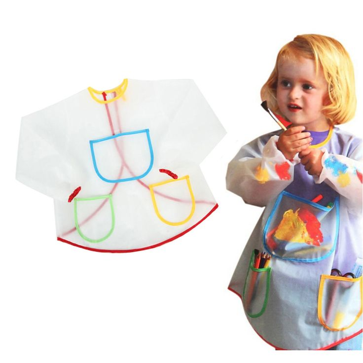 Waterproof Anti-Wear Apron Painting Drawing Coat for Children Costume Crafts DIY Paint antifouling aprons for kids Kindergarten #clothing,#shoes,#jewelry,#women,#men,#hats,#watches,#belts,#fashion,#style