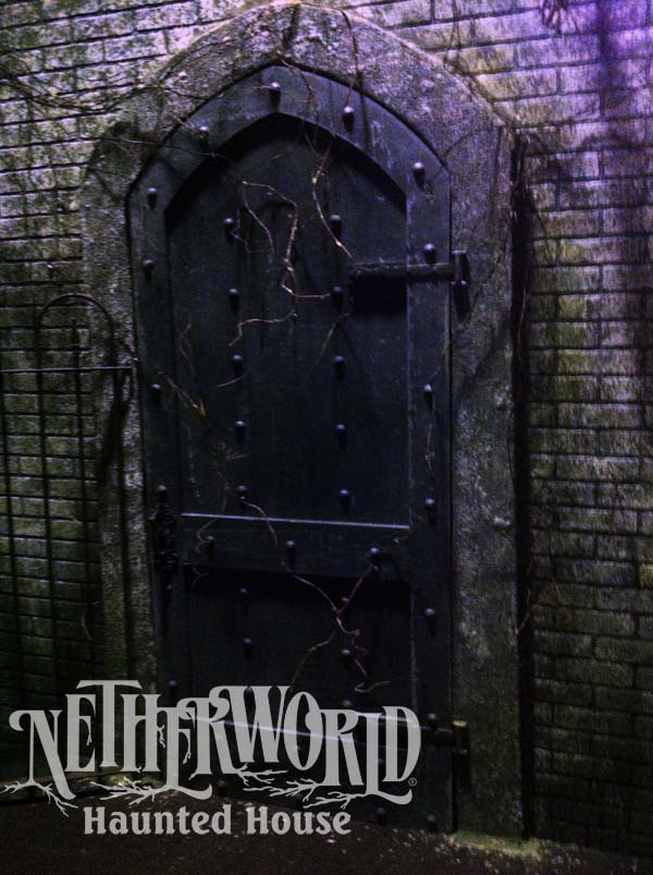 Door to the Unknown at NETHERWORLD Haunted House