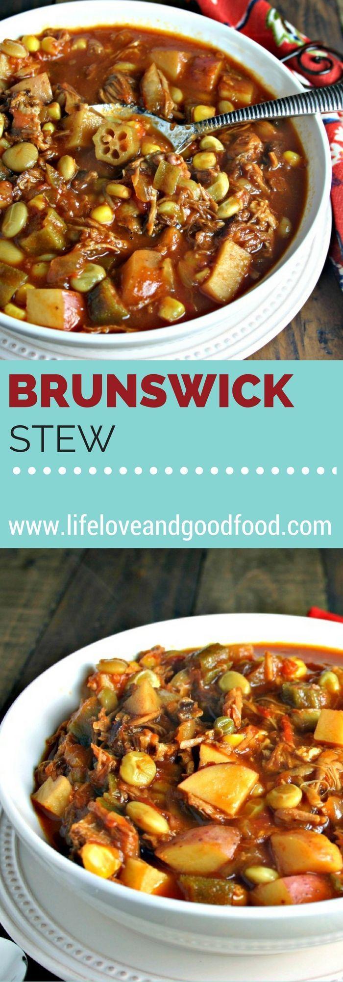 Easy Brunswick Stew   Life, Love, and Good Food: http://lifeloveandgoodfood.com/easy-brunswick-stew/