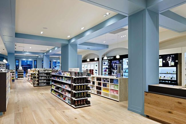 Pharmacy Design | Retail Design | Store Design | Pharmacy Shelving | Pharmacy Furniture | blue goose pharmacy | retail design