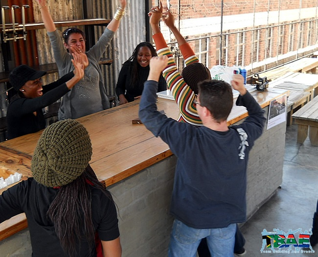 Experian Team Building event at Art on Main in Johannesburg