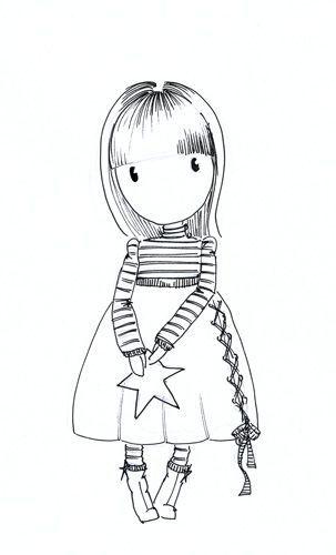 Gorjuss ‿ ⁀ Gorjuss Stamps Coloringgorjuss Girls