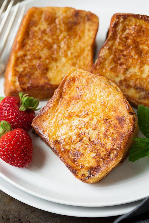 Angel Food Cake French Toast with Fresh Strawberry Syrup Really  Mein Blog: Alles rund um die Themen Genuss & Geschmack  Kochen Backen Braten Vorspeisen Hauptgerichte und Desserts # Hashtag