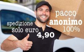 pacco anonimo e spedizione solo euro 4,90 a www.castromarket.it il primo negozio tutto gay in Italia il gay shop in italiano - negoziogay
