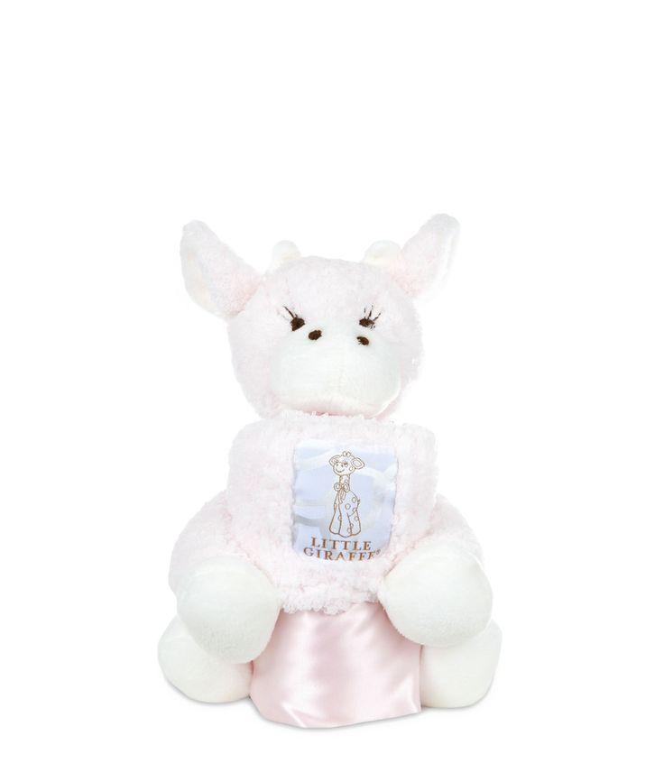Little Giraffe - Mini G + Blanky - Pink CANADA Free Shipping at RockprettyBaby.ca