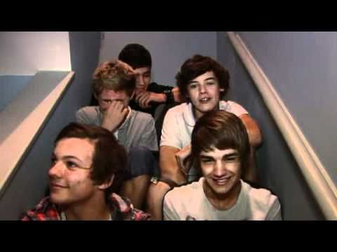 "Day 9: Favorite video diary and explain why - 1) ""I like girls who eat carrots."" 2) ""I like girls who have a nice, pretty face."" 3) Zayn's awkward laugh and Niall's adorable laugh"