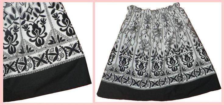 Prosta i elegancka spodnica