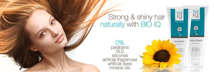 You want to have strong and shiny hair? You have problem with greasy hair or hair loss? BIO IQ natural cosmetics can help you to solve your problems! It's not magic! We just don't tire you hair and skin with chemical ingredients instead we provide then with truly natural , high quality ingredients and for that... your skin and hair will be thankful. It's easy as that!
