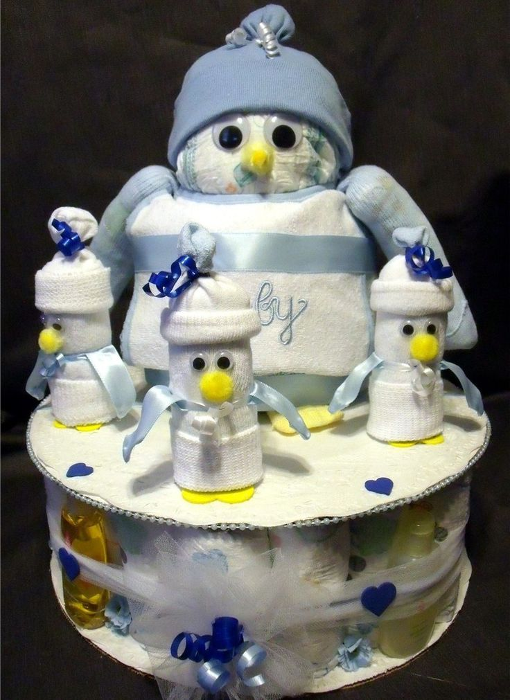 Penguin Diaper Cake Oh My My This Is