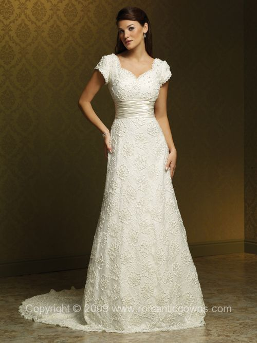 This is very chic wedding lds modest goin to the for Mormon modest wedding dresses