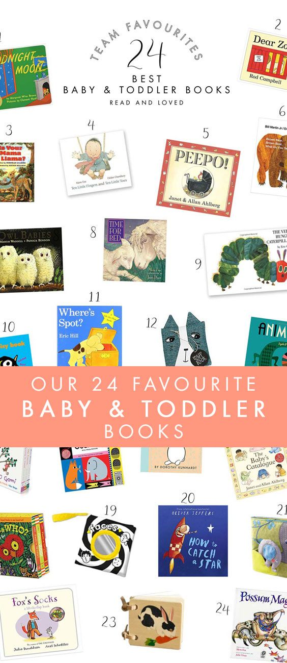 What is your absolute, number one, favourite book to read to a baby or toddler? Hopefully our favourites inspire you to update your own child's library, or perhaps these ideas can become future newborn baby gifts, (see our other Team Favourite Newborn Baby Gift Ideas too). Whether you gift them, or keep them for your own family collection, you simply can't go wrong with any of these fabulous titles!