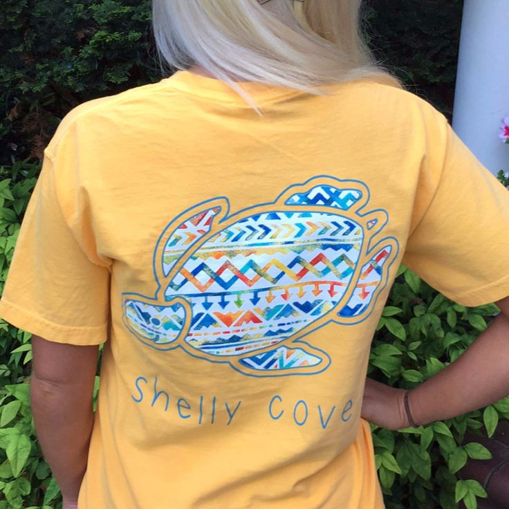 Fiesta Shelly™ Short Sleeve Tee in Sunrise Yellow from Shelly Cove