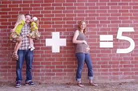 zwangerschap aankondigen 3de kindje