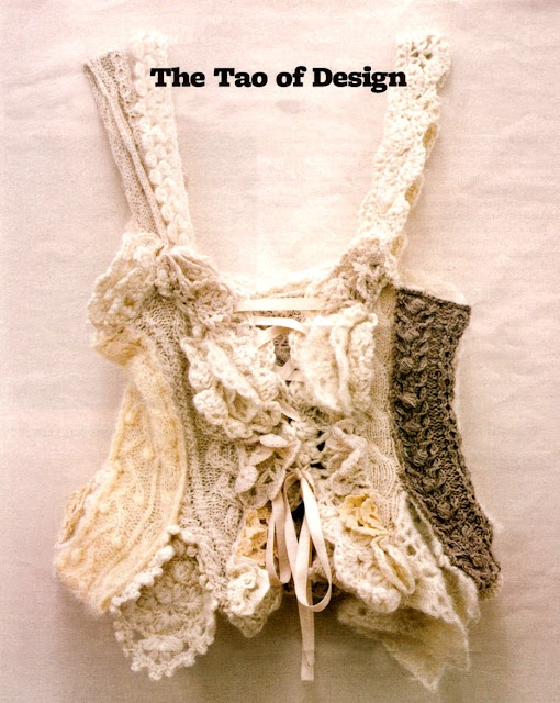 this one is for you Jill - don't you just love it! Tao Kurihara for Comme des Garcons