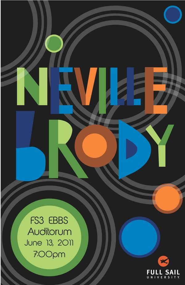 Neville Brody. Nice use of colours and a strange looking font.