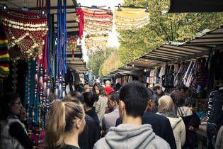 Love the Porte de Clignancourt neighborhood page on Airbnb.com ~ World Famous Flea Market