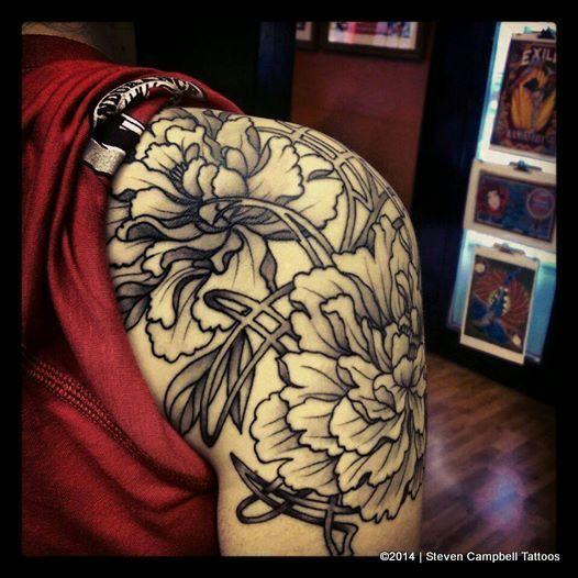 Kansas city tattoo artist steven campbell such beautiful for Tattoo parlors in kansas city