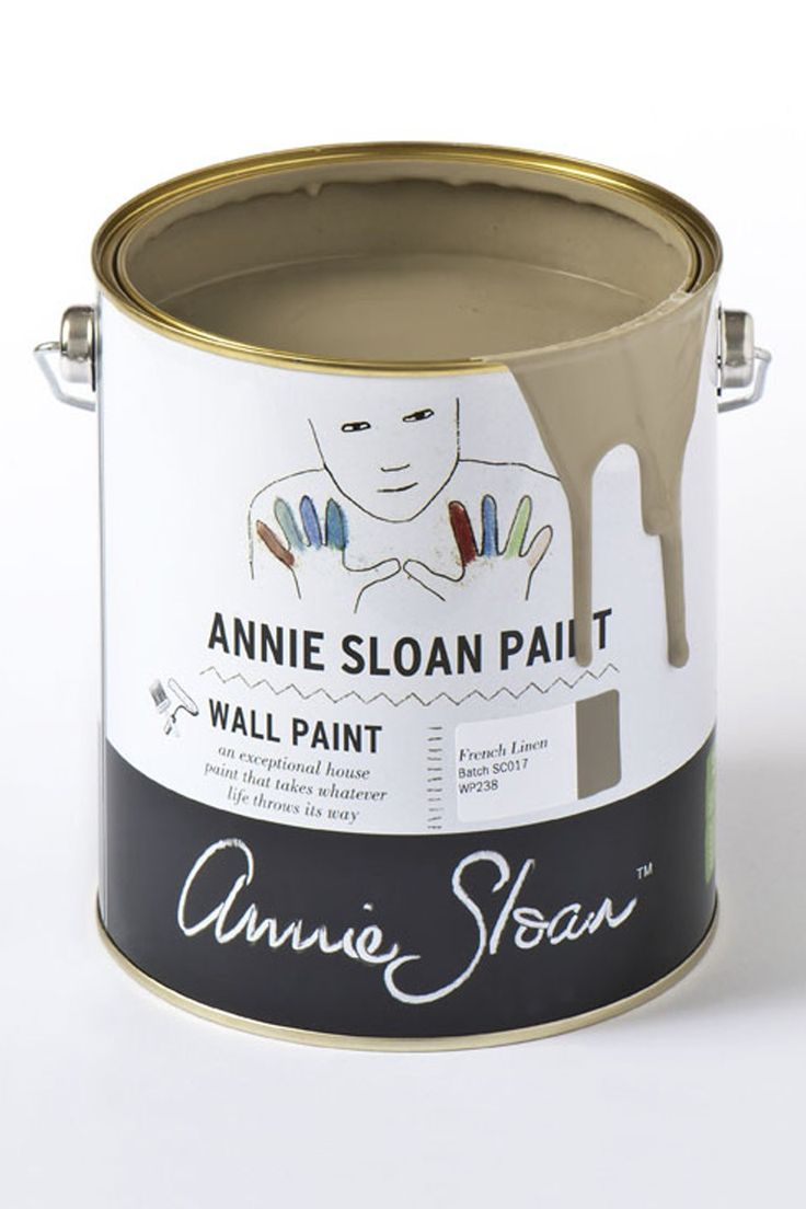 Annie Sloan Wall Paint French Linen 2,5 liter