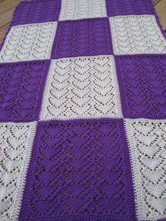 Crochet heart Afghan