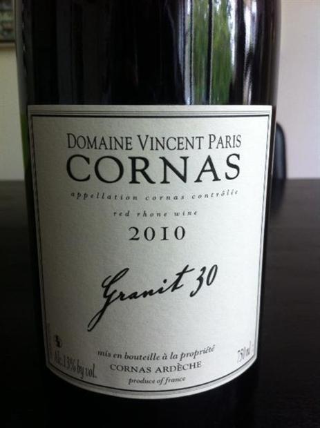 Granit 30 Cornas from Vincent Paris