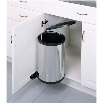Page 8 - Pull-Out & Built-In Trash Cans - Cabinet Slide Out & Under Sink Kitchen Trash Cans   KitchenSource.com