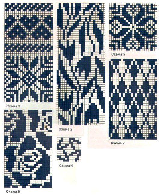Все шали здесь - Все шали здесь knit chat free pattern air isle