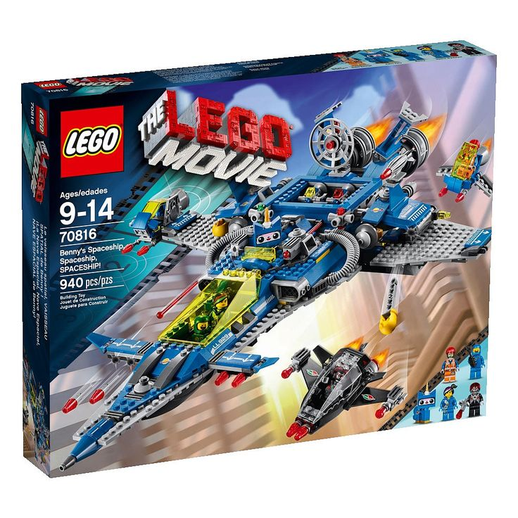 "The LEGO Movie Benny's Spaceship, Spaceship, Spaceship! (70816) - LEGO - Toys ""R"" Us"