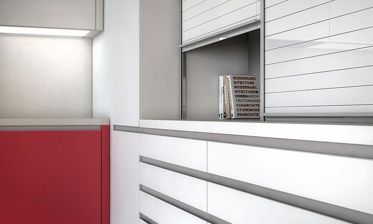 #persianas en el #diseño de #cocinas #linea3cocinas #Madrid