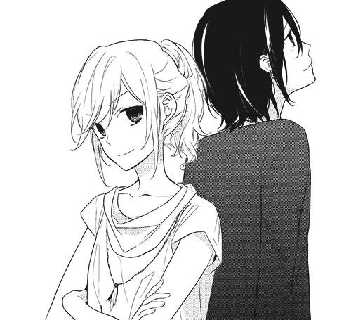 Miyamura and Hori // Horimiya