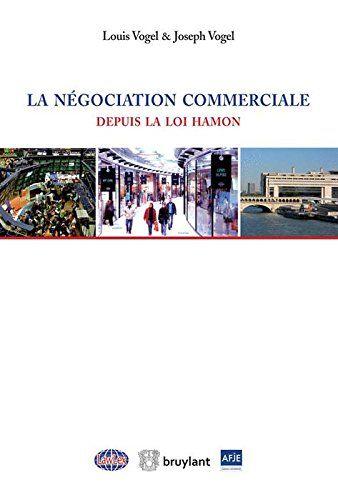La négociation commerciale depuis la loi Hamon |  322.55 VOG