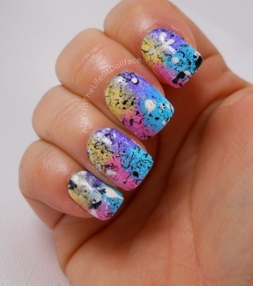 Candy sponging and Splatter<3