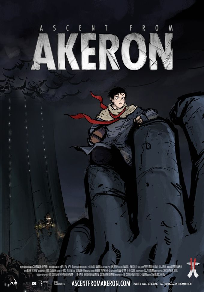 What's in it for you - when you support our #kickstarter campaign? Maybe a Akeron 'Movie' Poster (#1: B1 size) #crowdfundingperks #motioncomic #graphicnovel #akeron #submarinechannel Support us on Kickstarter!