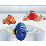Finding Dory Honeycomb Hanging Decorations, Pkt3, $22.90, A291594