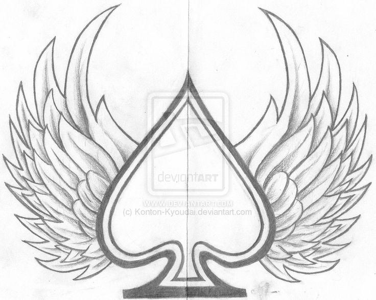 ace of spades design by konton kyoudai